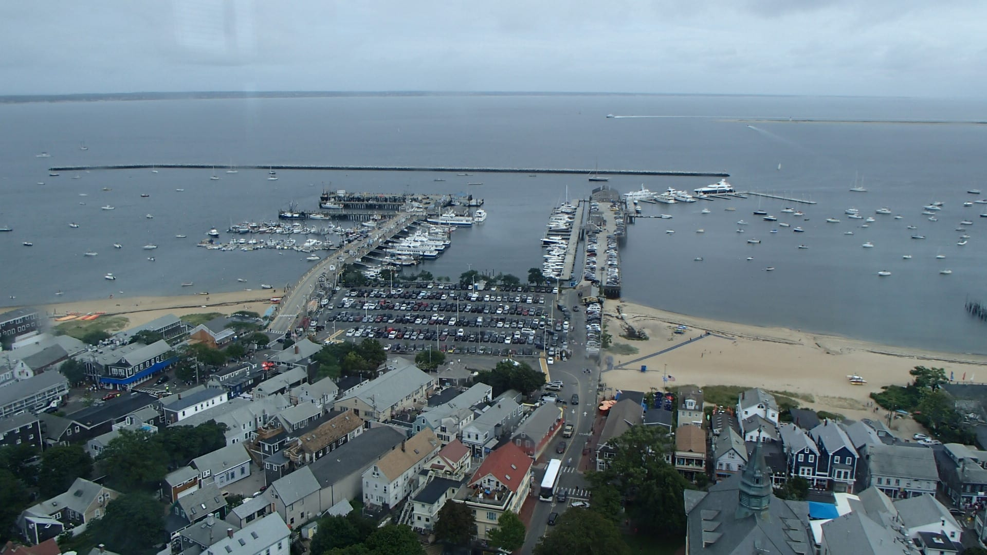 Provincetown from the Monument